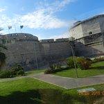 Una veduta della Fortezza di Michelangelo