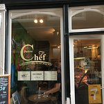 The front window - so that you can recognise the cafe!