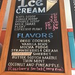 The best ice cream in city Mitchell's