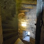 Stairwell inside Blackness Castle