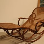 Rocking Chaise-1890, Gebruder Thonet