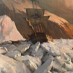 Ship Trapped in Pack Ice-1871, William C. Bradford.