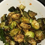 you must try the roasted brussel sprouts