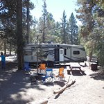 Site #48 Serrano Campgrounds.