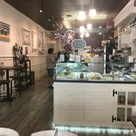 Cute little cafe, not a ton of space but enough for individuals, couples and small families