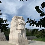 """""""Stone of Hope,"""" a sculpture of Martin Luther King"""