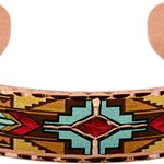 Handmade Bracelet Created in Southwest Native Indian Design by Copper Reflections Artisans