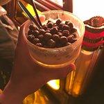 Cocoa puffs white russian at Labowski Bar.