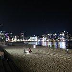 海雲台海水浴場照片