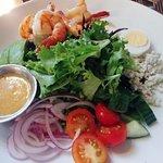 Jefferson's Cobb Salad with shrimp