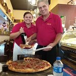 I was in St.Augustine on Oct 11,2018. My first stop is always  Pizza Time. My dear friend Domeni