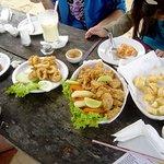 Quiosque Cheiro do Camarão (conhecido como Bar da Marcinha)