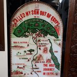 Holy family journey in Egypt