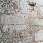 Демре. Храм Святого Николая. Настенные надписи на греческом языке.