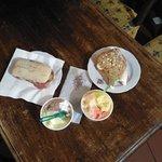 Panini e gelato, il pranzo perfetto!
