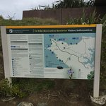 Cape Reinga walking track map