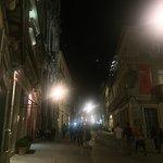 Rua das Flores by night