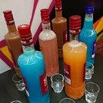 Vodka arrangée shot