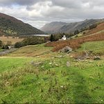 Photo taken on one of the walks from the Brotherswater Inn, we carried on to the Lake.