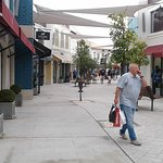 One of the streets at the Designer Outlet