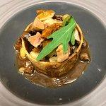 Escargots mitonnés aux champignons et châtaignes en croûte de pain de mie