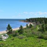 Cape Jourimain coastal view.