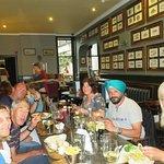 Group table in The Ship Inn