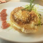 Goats Cheese and Caramelised Onion Stack