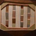 Les colonnes du temps, oeuvre en bois d'Alex Kosta, chapelle Granet