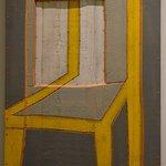 La fênêtre-chaise, oeuvre en bois d'Alex Kosta, chapelle Granet