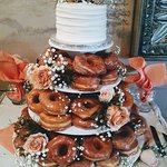 Donut Cake Display