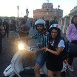 Rent Scooter Roma Foto