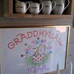 Bild från Graddhyllan Lantcafe