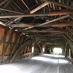 Bath Covered Bridge Foto