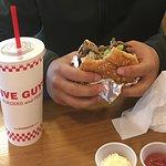 Beef Hamburger @ Five Guys