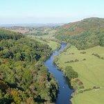 The River Wye below Symonds Yat Rock.