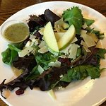 Salad-they forgot the walnuts