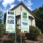 The front of Discover Eumundi which was once a church
