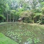 Sandakan Memorial Park is beautifully landscaped