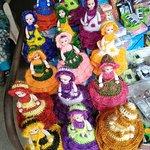 Handicrafts shop inside fort