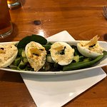 The Crab stuffed Deviled Eggs