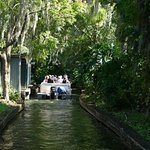 Boat tour through canal