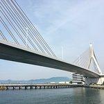 ภาพถ่ายของ Aomori Bay Bridge