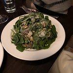 Mushroom and chestnut salad
