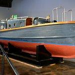 Admiral Nimitz's barge