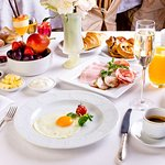 Breakfast at Metropol Moscow Hotel