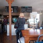 Inside of Fat Beagle cafe