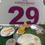 Had their North Indian Thali for lunch today