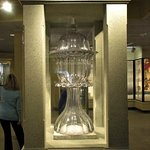 "This was in the Glass Museum! Sweeney Punch Bowl.4'10""This one stood on grave site for a while"