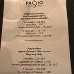 Bilde fra Passio restaurant